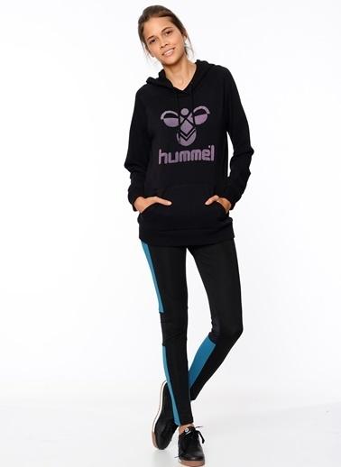 Hummel Kapüşonlu Sweatshirt Siyah